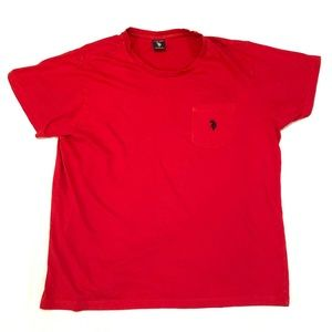 U.S. Polo Assn. T-Shirt Red Size Large
